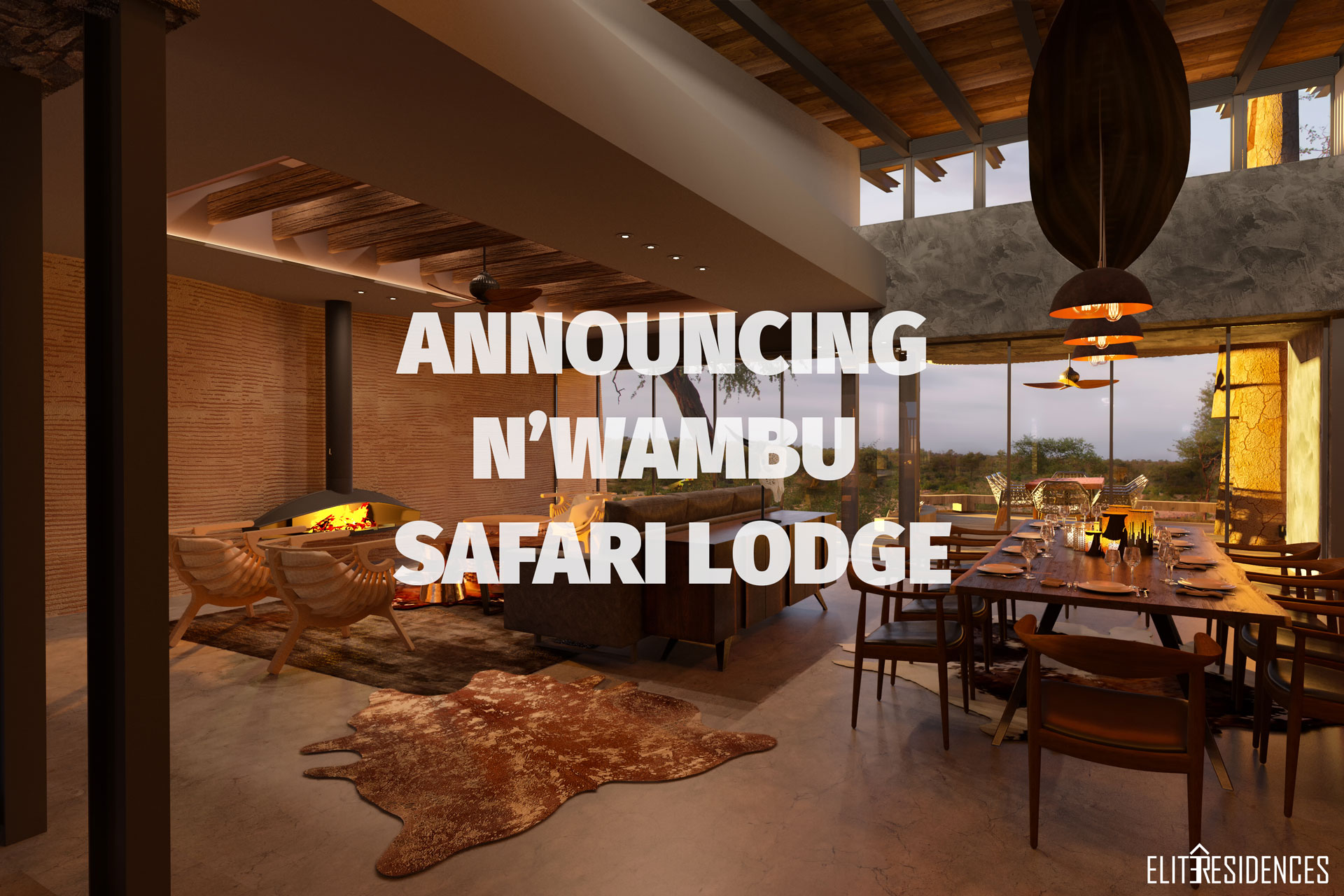 N'Wambu Safari Lodge Artistic Interpretations